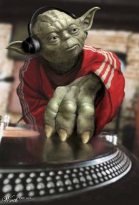 Yoda spins his leadership mantras like a DJ