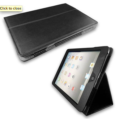 A leather iPad Mini cover keeps your geek looking classy at work