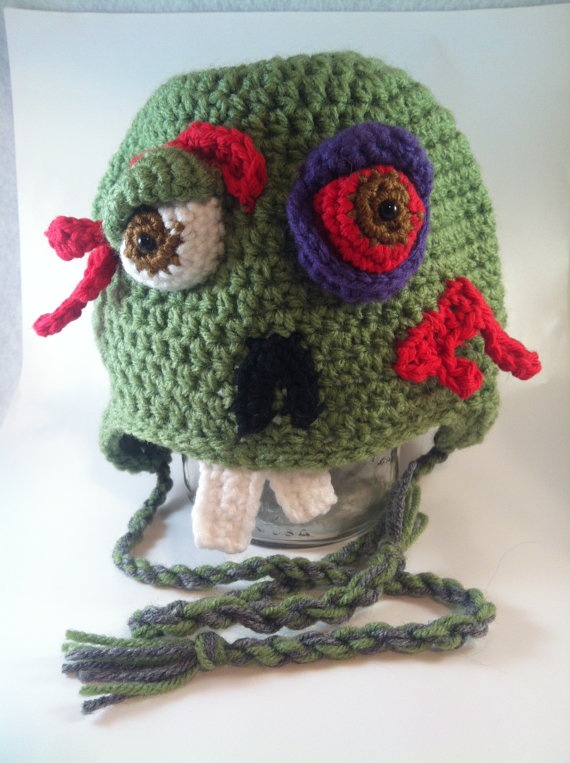 Every geek needs a zombie hat