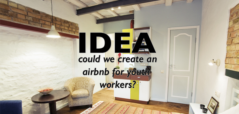 Airbnb for Youth Workers - Adam McLane